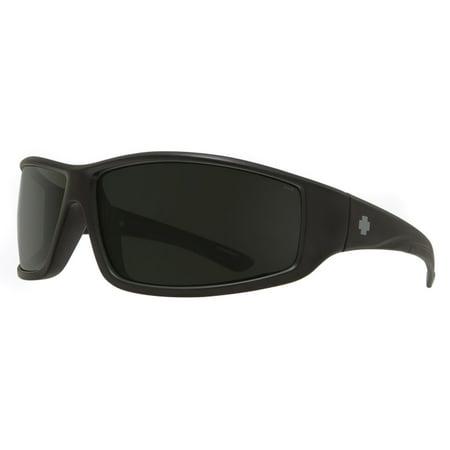 Spy JACKMAN-673505003863 Matte Black Ansi Sunglasses (Spygear Net)