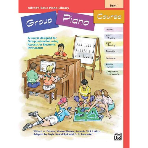 Alfred's Basic Piano Library Group Piano Course, Book 1