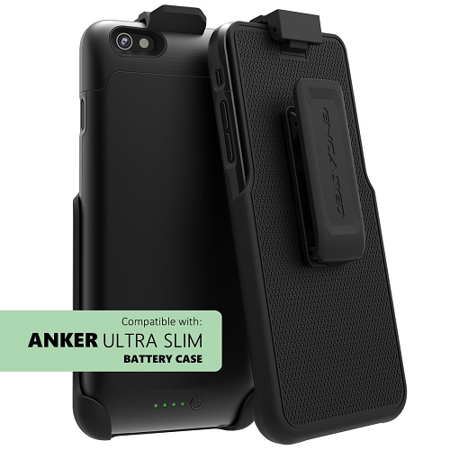 competitive price bfbfe f3c3d Belt Clip for Anker Ultra Slim iPhone 6 6s Battery Case (Holster for  version: 2850mAh) (By Encased)