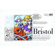 "Strathmore 200 Bristol Board with Smooth Finish, 11"" x 17"", Pack of 24"