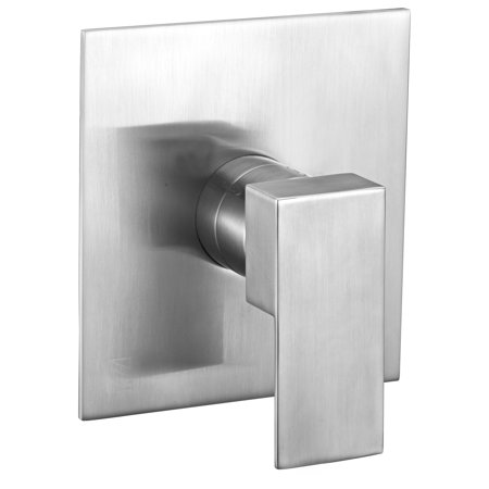 - ALFI brand  AB6701-BN Brushed Nickel Modern Square Pressure Balanced Shower Mixer