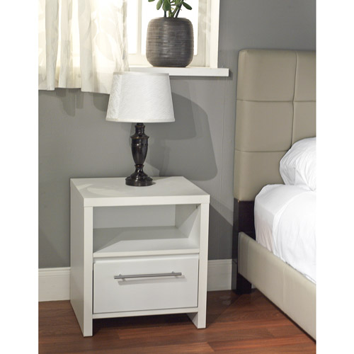 ava 1drawer nightstand multiple colors