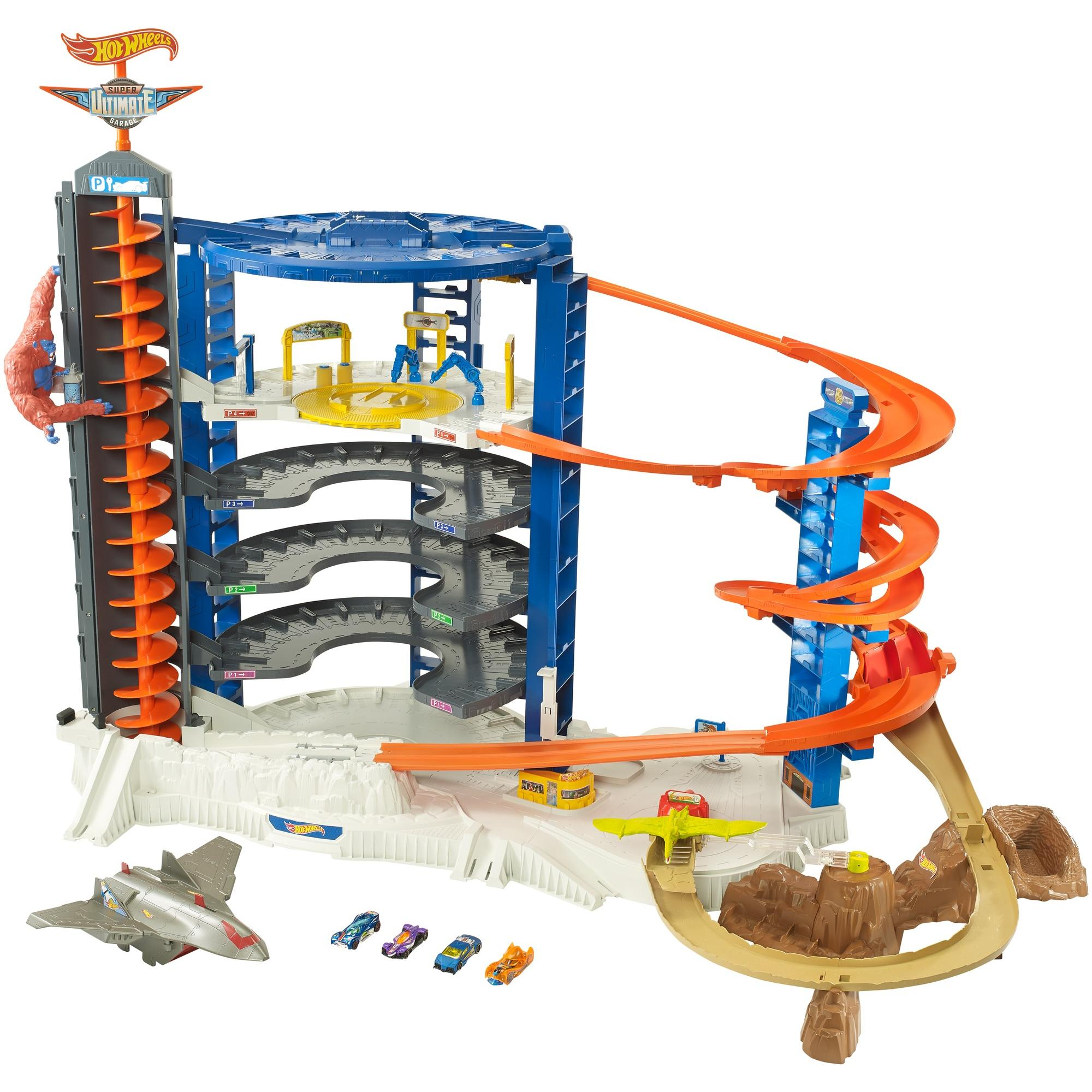 Hot Wheels Super Ultimate Garage Play Set + Accessories, Walmart Exclusive by Mattel