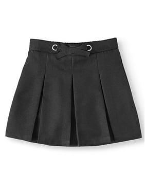 Wonder Nation Girls 4-16 School Uniform Bow Scooter Skirt