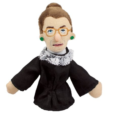 Ruth Bader Ginsburg Finger Puppet And Refrigerator Magnet