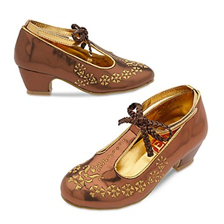 Disney Store Elena Of Avalor Costume Shoes For Kids   Size 9 10