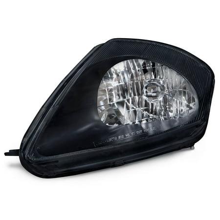 2000-2002 Mitsubishi Eclipse Black Housing Driver Side Headlight MI2502112