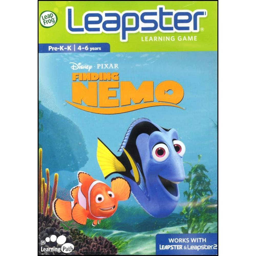 Leapster Learning Game Finding Nemo, Explore life under the sea in learning adventures with Nemo, Dory and Marlin! By LeapFrog