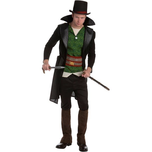 Assassin S Creed Syndicate Jacob Frye Assassin Classic Mens Costume Bundle Walmart Com Walmart Com