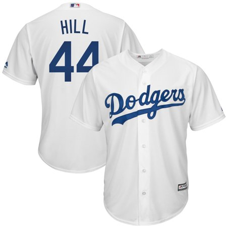 Rich Hill Los Angeles Dodgers Majestic Home Cool Base Replica Player Jersey - -