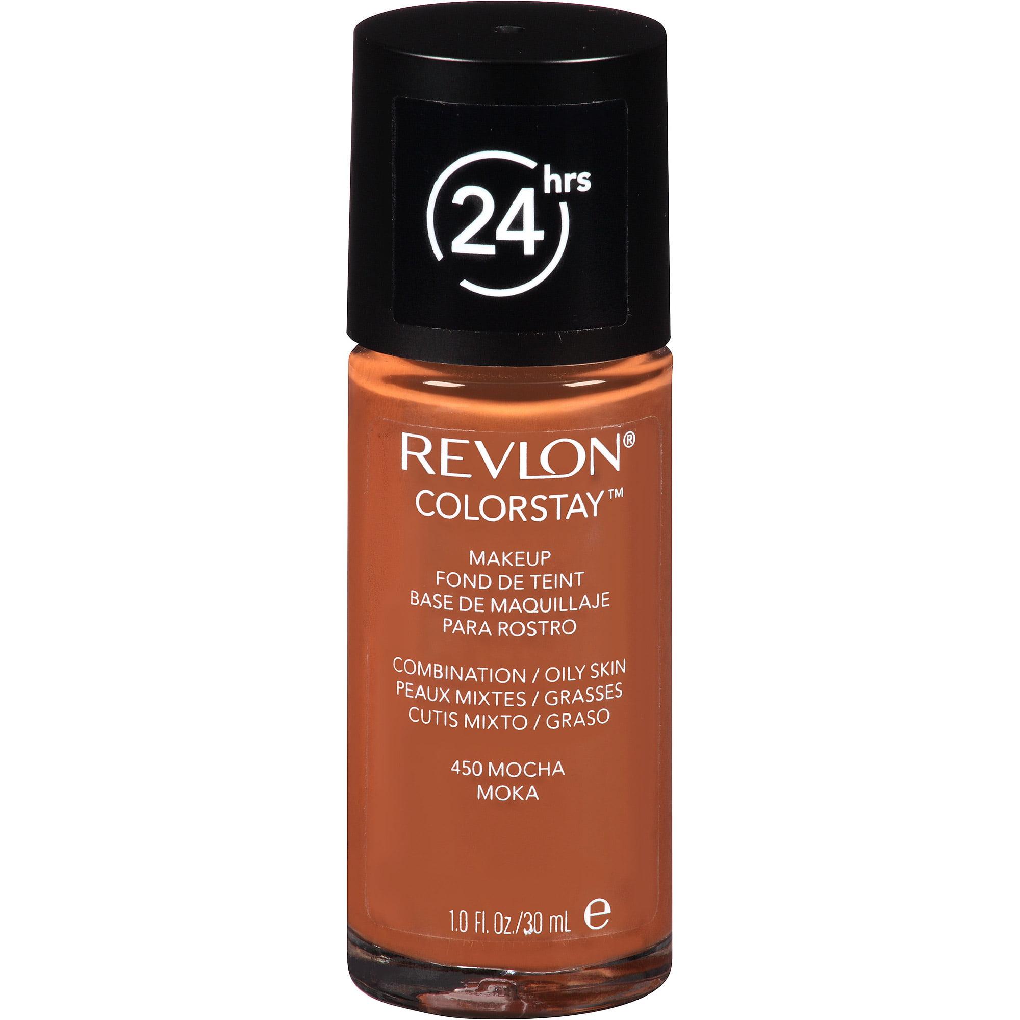 Revlon ColorStay Makeup for Combination / Oily Skin, 450 Mocha, 1 fl oz