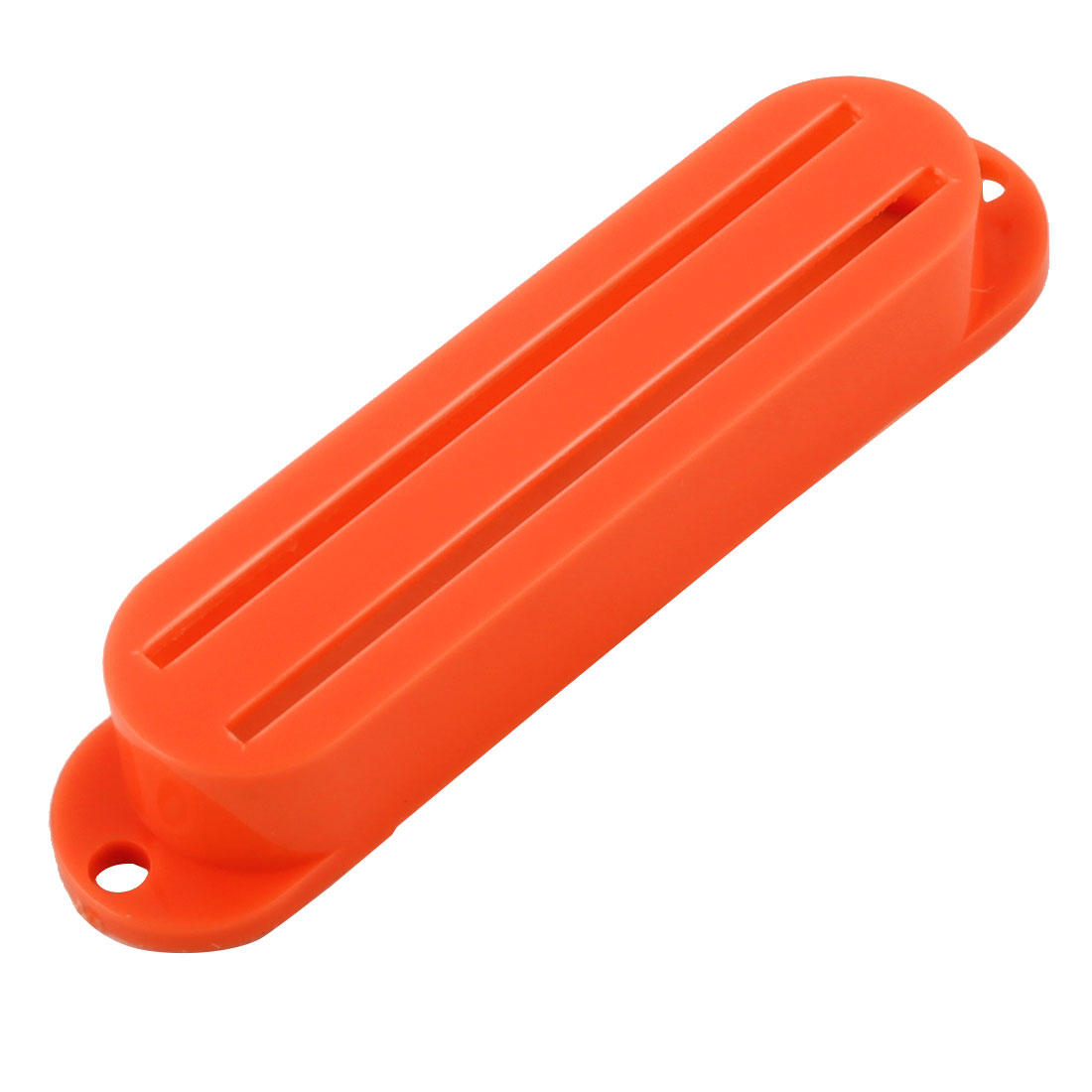 Plastic Double Track Humbucker Neck Bridge Acoustic Guitar Pickup Covers Orange
