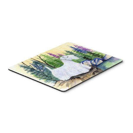 Sealyham Terrier Mouse Pad / Hot Pad / Trivet