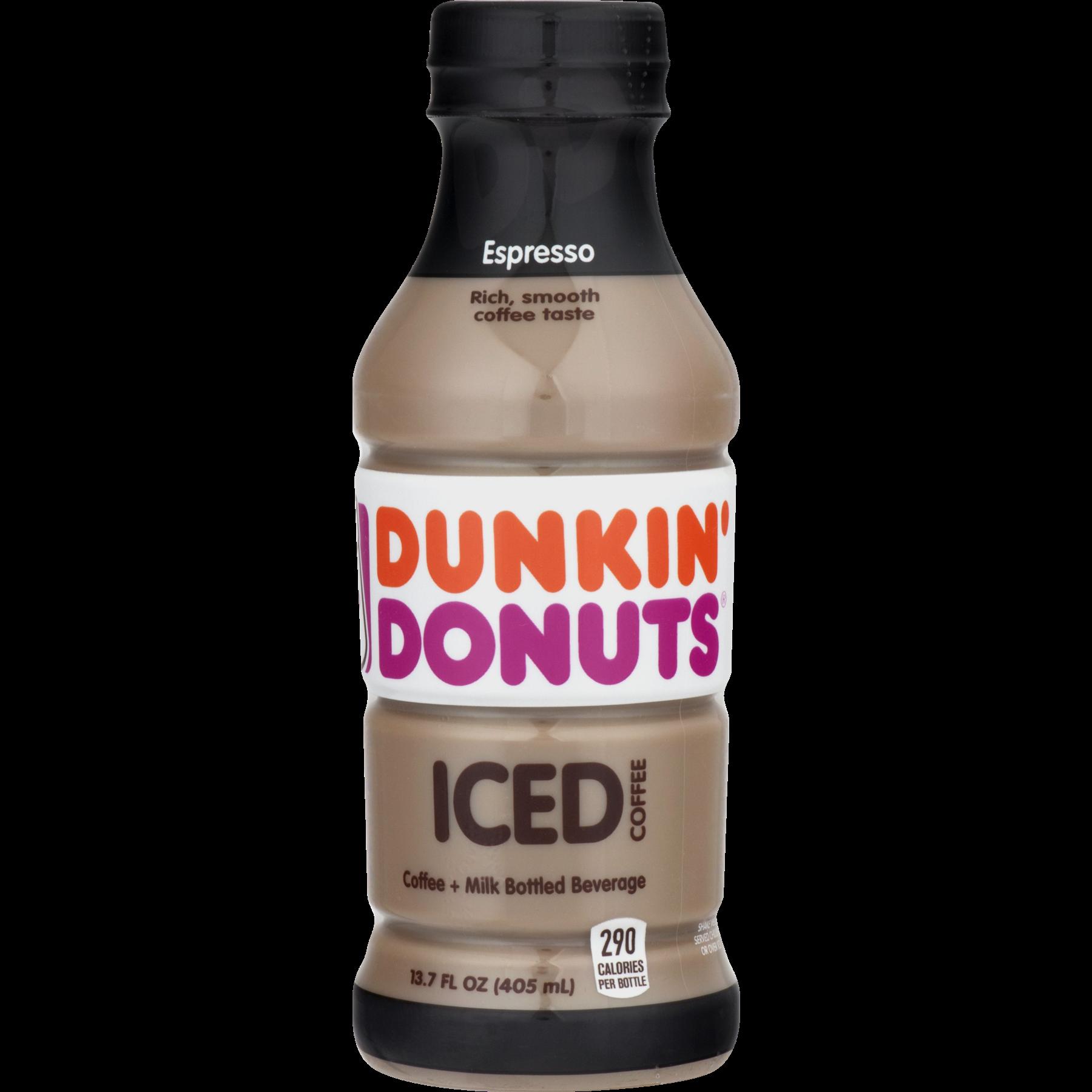 Dunkin Donuts Espresso Iced Coffee 137 Fl Oz Bottle