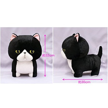 Kawaii Black Cat Neko Plush Toy 11