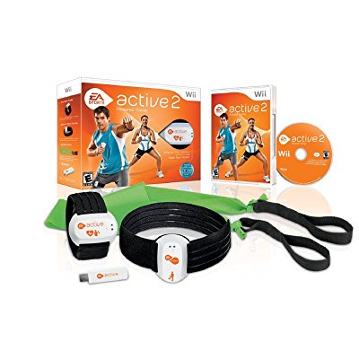 wii active 2 personal trainer (two additional resistance ...