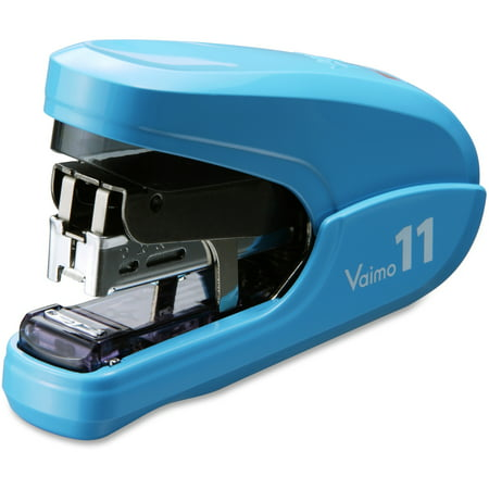 MAX, MXBHD11FLKBE, Vaimo 11 Compact Stapler, 1 / Each, Blue