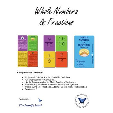 Whole Numbers & Fractions (Operations With Whole Numbers And Fractions Examples)