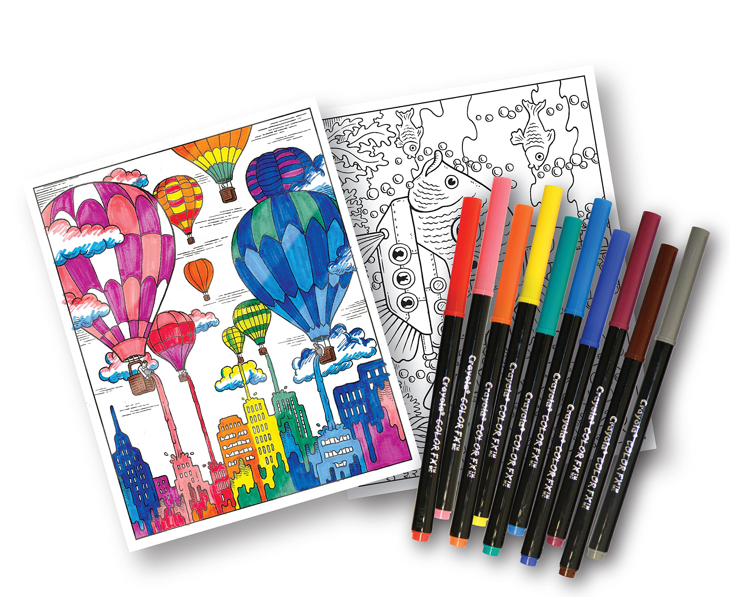 Crayola Art With Edge, Coloring Set, Adult Coloring, Gift For Kids ...