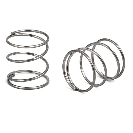 0.8mmx14mmx15mm 304 Stainless Steel Compression Springs Silver Tone 20pcs - image 1 of 2