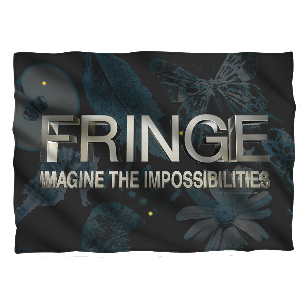 Fringe Logo Pillow Case White One Size