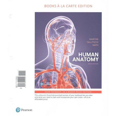 Human Anatomy Books A La Carte Plus Mastering Ap With Pearson