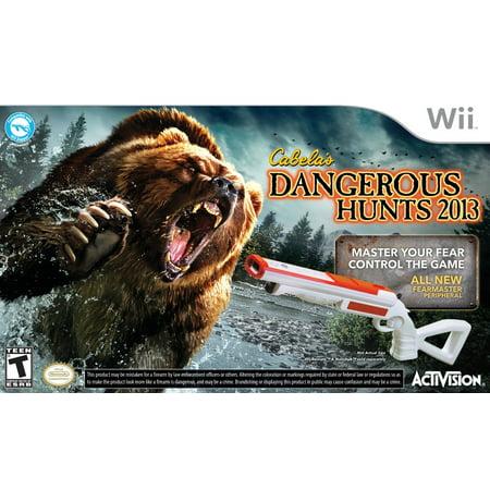 Cabela's Dangerous Hunts 2013 with Gun - Nintendo
