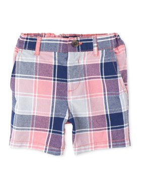 The Children's Place Baby & Toddler Boy Plaid Chino Short