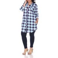 d0dd1833e08 Free shipping on orders over $35. Free pickup. Reduced Price. Product Image  Women's Plus Size Plaid Tunic Top