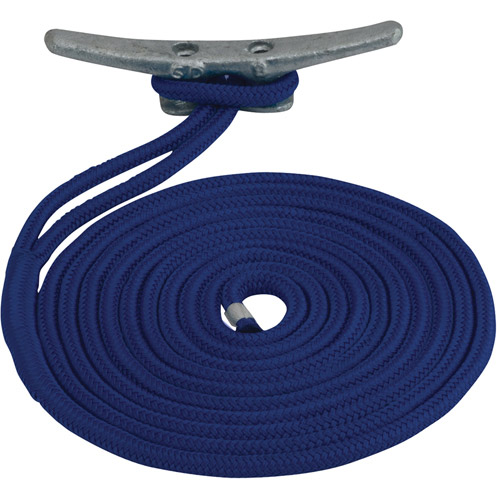 "Click here to buy Sea Dog Dock Line, Double Braided Nylon, 1 2"" x 20', Navy by Sea-Dog."