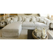 Sofa and Ottoman Set in Sand