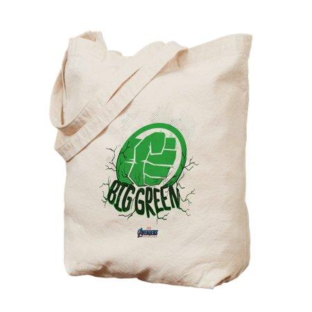CafePress - Big Green Hulk Fist - Natural Canvas Tote Bag, Cloth Shopping