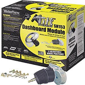 SeaStar Solutions Dash Module Kit for Mechanical Tilt Steering, Backmount Rack