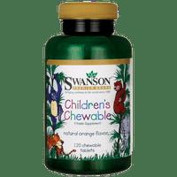 Swanson Children's Chewable Multivitamin 120 Chwbls