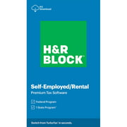 H&R Block Tax Software Premium 2020 (PC Download)