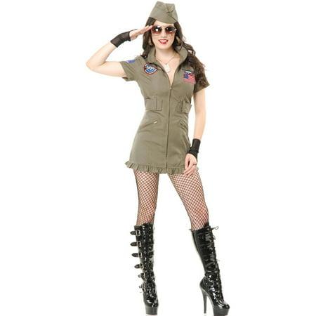 Adult Women's Sexy Top Gun Seal Team Six 6 - Seal Costume Adults