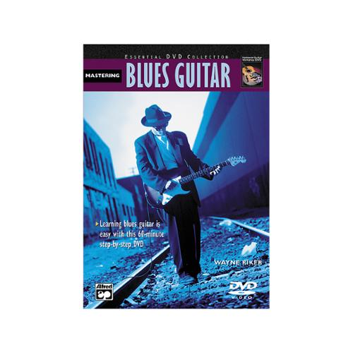 Alfred Mastering Blues Guitar Book & DVD