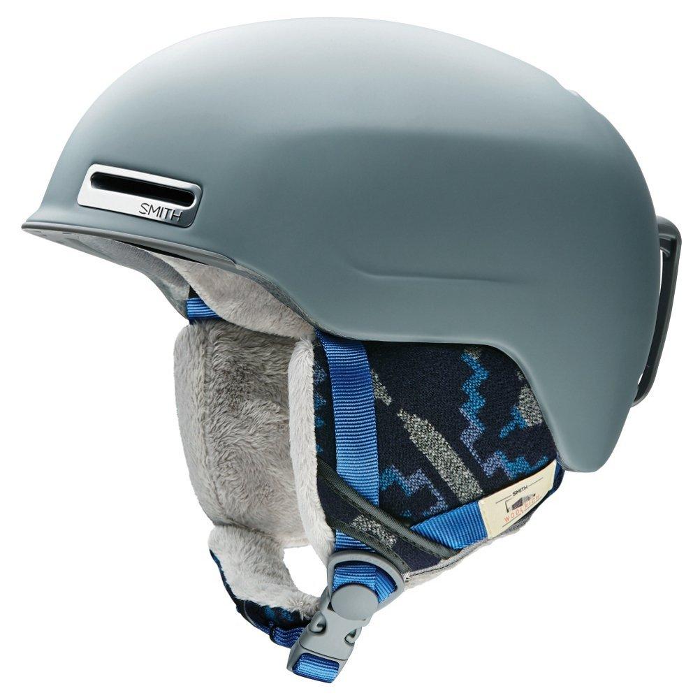 Allure Adult Ski Snowmobile Helmet Matte Frost Woolrich   Medium, AirEvac 2 ventilation By Smith Optics by