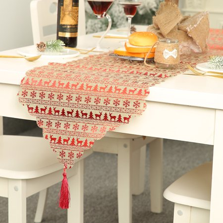 Amazon Com Home Brilliant Coffee Table Runner Dining Room Table Runners Rectangle For Buffet 12 X 72 Inches Brown Home Kitchen