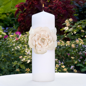 Love Blooms Unity Candle