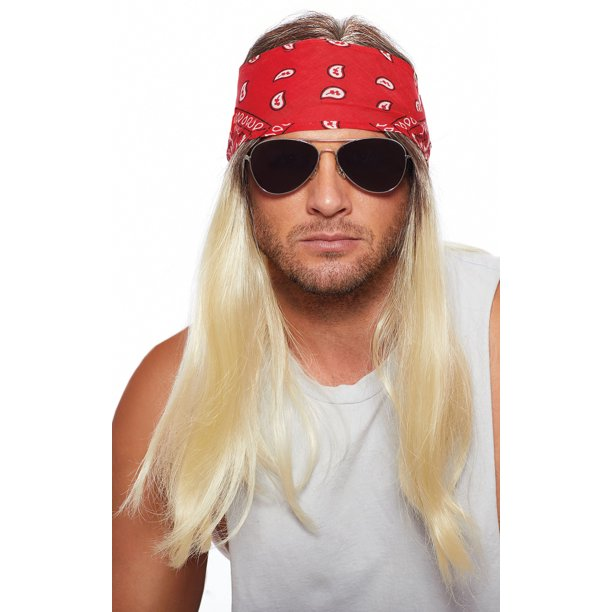 Dreamgirl Dreamgirl Men S Bandana Rocker Wig Walmart Com