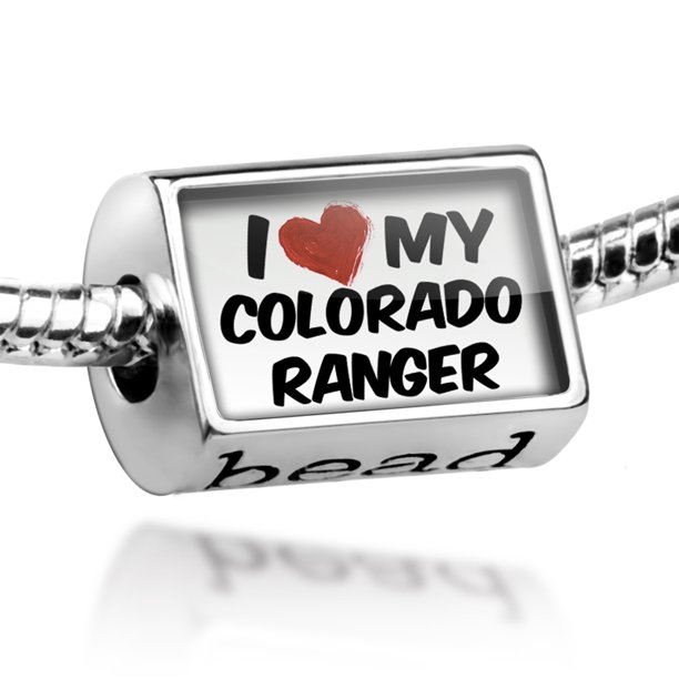 Bead I Love my Colorado Ranger, Horse Charm Fits All European Bracelets