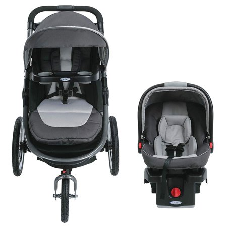 Graco 5 Way Modes Click Connect Snugride Jogger Travel Stroller System Admiral