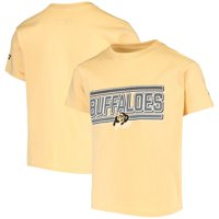 Youth Russell Athletic Gold Colorado Buffaloes Lined T-Shirt