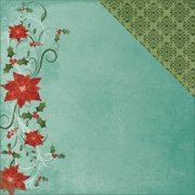 Seasons Greetings Double-Sided Cardstock 12 Inch X 12 Inch-Holly J