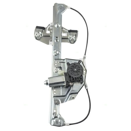 BROCK Power Window Lift Regulator with Motor Assembly Driver Rear Replacement for 00-05 Cadillac DeVille 19244838
