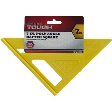 Hypertough 7  Poly Angle Rafter Square