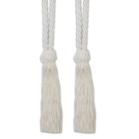 Braided Tassels - Sweet Home Collection V-Cord Braided Tassel Tieback Set of 2 (Assorted Colors)