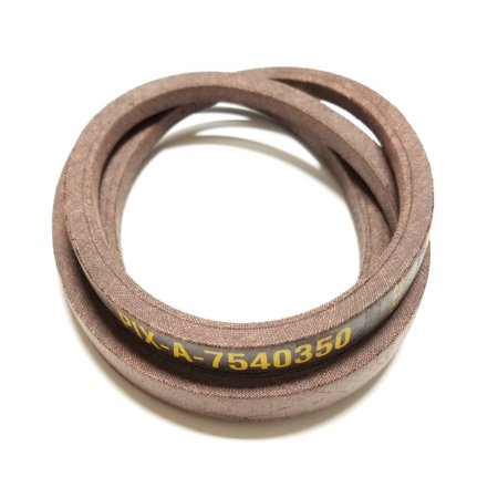 Belt Made To FSP Specifations With Kevlar Replaces MTD Belt 754-0350, 954-0350: MTD, Cub Cadet, Troy-Bilt, White and