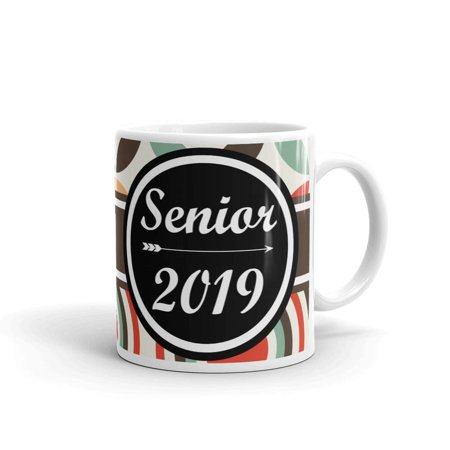 Graduation Senior Class of 2019 Coffee Tea Ceramic Mug Office Work Cup Gift 15 Oz](Religious Graduation Gifts)